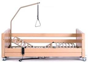 Przykładowe łóżko rehabilitacyjne dostępne w naszej wypożyczalni - producent Vermeiren