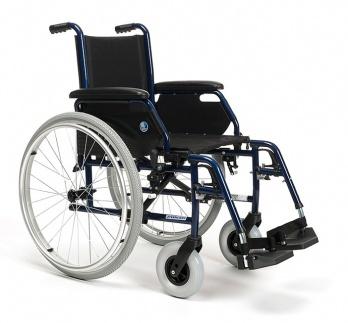 Przykładowy wózek inwalidzki dostępne w naszej wypożyczalni - producent Vermeiren